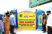 Peresmian Percontohan Desa Keluarga Berkualitas Adaptasi Baru di Desa Sido Rejo Kecamatan Keluang yang diresmikan secara langsung oleh Kepala Badan Kependudukan dan Keluarga Berencana Nasional (BKKBN) Republik Indonesia, Dr (HC) dr Hasto Wardoyo SpOG (K)