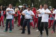 Sport Day yang diadakan di lapangan Gelanggang Remaja Sekayu