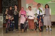 Talkshow interaktif literasi digital bersama Duta Baca Indonesia, sekaligus launching majalah literasi arsip berjaya dan launching Aplikasi i-Muba di Opprom Pemkab Muba