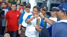 Obor Asian Games Tiba Di Kecamatan Lais