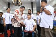 Pacu Prestasi Atlet Disabilitas, Dodi Reza Kukuhkan Pengurus NPC Muba