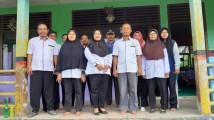 Korwil IV kecamatan yang dipimpin oleh Jamian, S.Pd. MSi melakukan sidak di beberapa sekolah di kecamatan lalan.