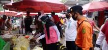 Tim Satgas Covid-19 di Muba Sidak ke Pasar Tradisional