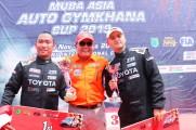 Pebalap Indonesia Berjaya di Ajang Muba Auto Asia Gymkhana.