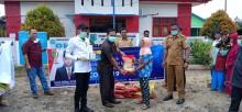 Peduli Dampak Corona, 4 Anggota DPRD Muba ini Sambangi Desa Sinar Tungkal