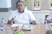 Rapat Persiapan Seminar Neuroparenting di Ruang Rapat Wiyata Dikbud Kabupaten Muba, Rabu (18/9/2019).