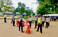 Pemkab Muba Berlakukan Jalan Satu Arah di Terminal Randik Sekayu dan Pasang Rambu Lalin