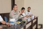 Wakil Bupati Beni Hernedi saat memimpin rapat koordinasi pengendalian Karhutlah