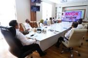 Aksi Nasional Pencegahan Korupsi (ANPK), Praktik Baik Pencegahan Korupsi Terkait Pemanfaatan Nomor Induk Kependudukan (NIK) Untuk Program Subsidi Pemerintah dan Penerapan Manajemen Anti Suap yang digelar Komisi Pemberantasan Korupsi (KPK), secara virtual