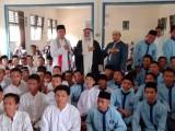 Ulama asal Negeri Palestina Syeikh Nashif Nashir Abdullah akhirnya menyempatkan diri untuk melakukan kunjungannya ke Sekolah SMA Negeri 3 Sekayu, Kabupaten Musi Banyuasin, Provinsi Sumatera Selatan pada Jumat (13/09/19).