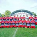 Pergu Batom vs Dikbud Muba di Stadion Serasan Sekate Muba