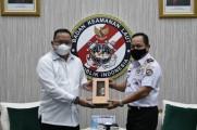 Temui Kepala Bakamla, Buka Pos Pengamanan di Lalan