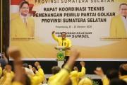 Pertama di Indonesia DPD Golkar Sumsel Gelar TOT