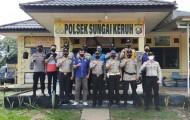 Pisah Sambut Kapolsek Jirak Jaya dan Sungai Keruh, IPTU Susilo, SH: Tugas Kita Melayani Masyarakat.