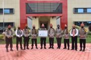 Polres Muba Berhasil Raih Penghargaan WBK (Wilayah Bebas Korupsi)