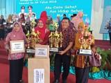 SD Anwar Karim 5 Kecamatan Tungkal Jaya Kabupaten Musi Banyuasin meraih Juara 1 Sekolah Sehat Tingkat Provinsi Sumsel.