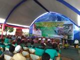 acara tutup tanam pembangunan sawit rakyat (PSR) di depan kantor KPKS Tri Bakti Sentosa desa Sidorejo serta peninjauan ke lokasi replanting