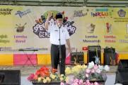 Asisten Bidang Administrasi Umum Setda Muba H Ibnu Saad SSos MSi mewakili Bupati Musi Banyuasin pada Acara Spektakuler 2018 dalam rangka Peringatan Hari Oeang Republik Indonesia ke 72 dan hari pekan ekslusif pajak, yang diselenggarakan Kantor Pelayanan Pa