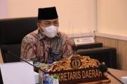 Sekda Muba Ikuti Rakor dan Silaturahmi Forsesdasi Seluruh Indonesia secara Virtual.