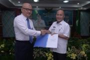 Sekretaris Daerah Kabupaten Muba, Drs H Apriyadi MSi