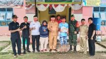 Selain BLT Yang Diterima, Masyarakat Tanjung Agung Selatan Juga Terima Masker Gratis