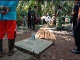 Semburan Air dan Lumpur Di Desa Tanjung Agung Selatan Sudah Ditutup