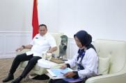 Bupati Muba Dodi Reza Terima Audiensi Perwakilan GTKHNK 35+