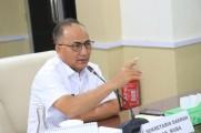 Sekda Muba Drs H Apriyadi MSi menegaskan kepada agen elpiji dan PT Pertamina untuk mencari sumber kelangkaan dan akan memberikan sanksi bagi pelaku yang memang terindikasi melakukan praktek - praktek nakal dalam pendistribusian dan penyaluran gas bersubsi