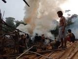 Soumil Kayu Di Desa Saud Ketapi Nyaris Ludes Terbakar