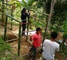 Para Relawan sudah melakukan beberapa Kegiatan Sosial kepada korban bencana Gempa.
