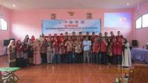 Kegiatan Workshop Penyusunan Rencana Pembelajaran Semester (RPS) bagi dosen STIE, STIH, dan STAI Rahmaniyah Sekayu di Aula Perguruan Tinggi Rahmaniyah Rabu (23/10).