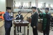 Syairi Remuso PAW Fraksi PAN Resmi Dilantik