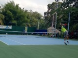 Tenis Lapangan Kontingen Muba Borong Empat Medali Emas
