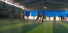 Tim Futsal Putra Muba berhasil menundukkan Banyuasin dengan skor 8-2, Kamis (14/11/2019).