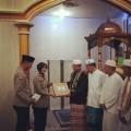 Udara Subuh Menusuk Tulang,  Tak menghalangi Kapolres Muba Safari Subuh Ke Masjid Al-Whusto