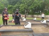 Usai Upacara Jajaran Pemkab Muba, TNI dan Polri Tabur Bunga Hari Pahlawan