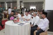 Focus Group Discussion (FGD) Pengendalian dan Pencegahan Kebakaran Hutan, Kebun dan Lahan (Lahan Gambut) Sumsel di Hotel Swarna Dwipa Palembang, Rabu (16/10/2019).