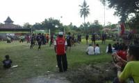 Warga Sanga Desa Cukup Antusias Saksikan Tournament Volly Ball Camat Cup 2018