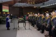 Akademi Keperawatan Pemerintah Kabupaten Musi Banyuasin menggelar prosesi wisuda XIV angkatan 2018/2019.