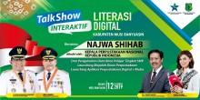 Duta Baca Indonesia Najwa Shihab direncanakan akan berkunjung ke Kabupaten Musi Banyuasin esok hari Kamis, 12 Desember 2019 dalam acara Talk show interaktif.